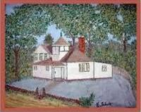 Painting of 2nd West Side School House