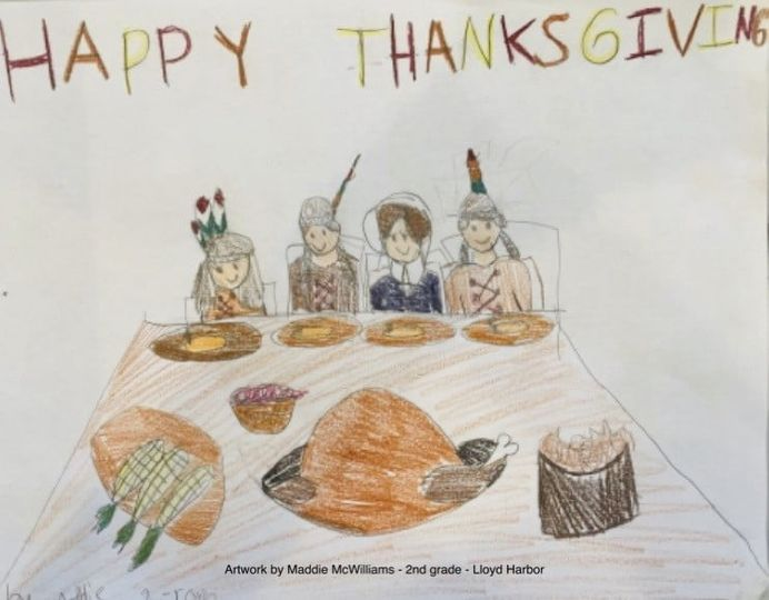 Happy Thanksgiving from Lloyd Harbor School