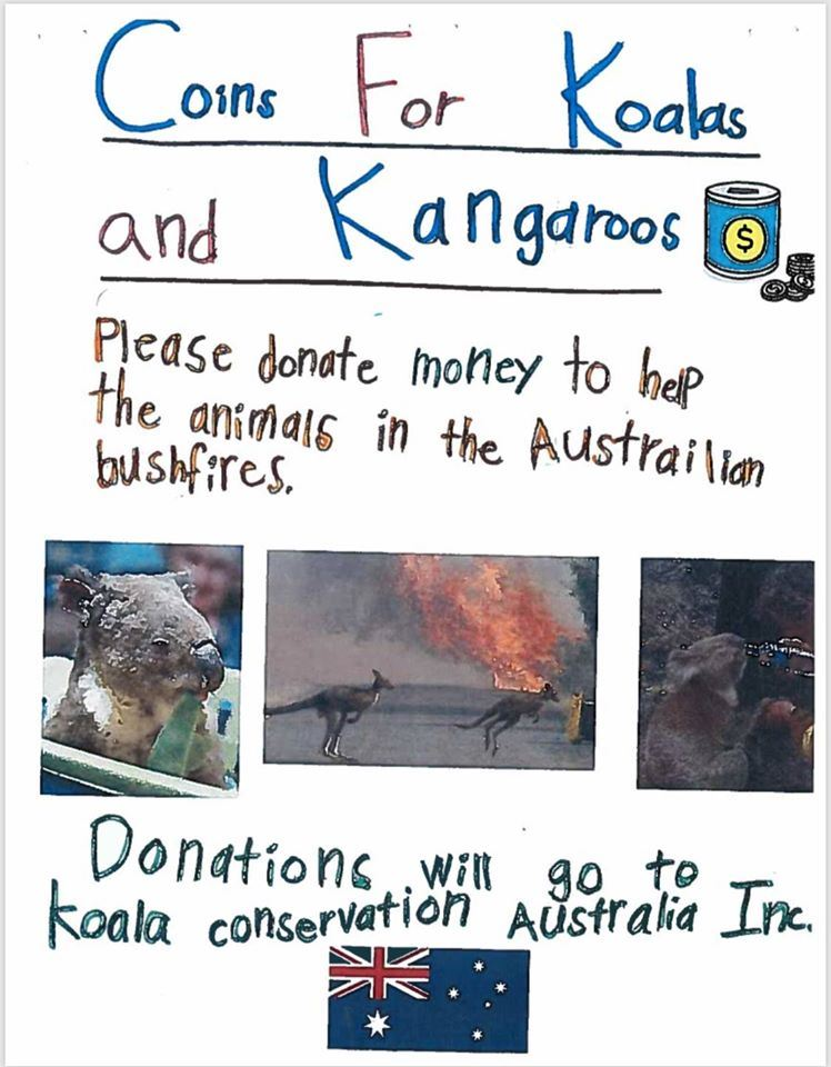 Coins for Koalas and Kangaroos