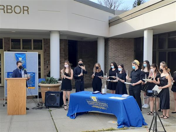 International Thespian Honor Society Induction