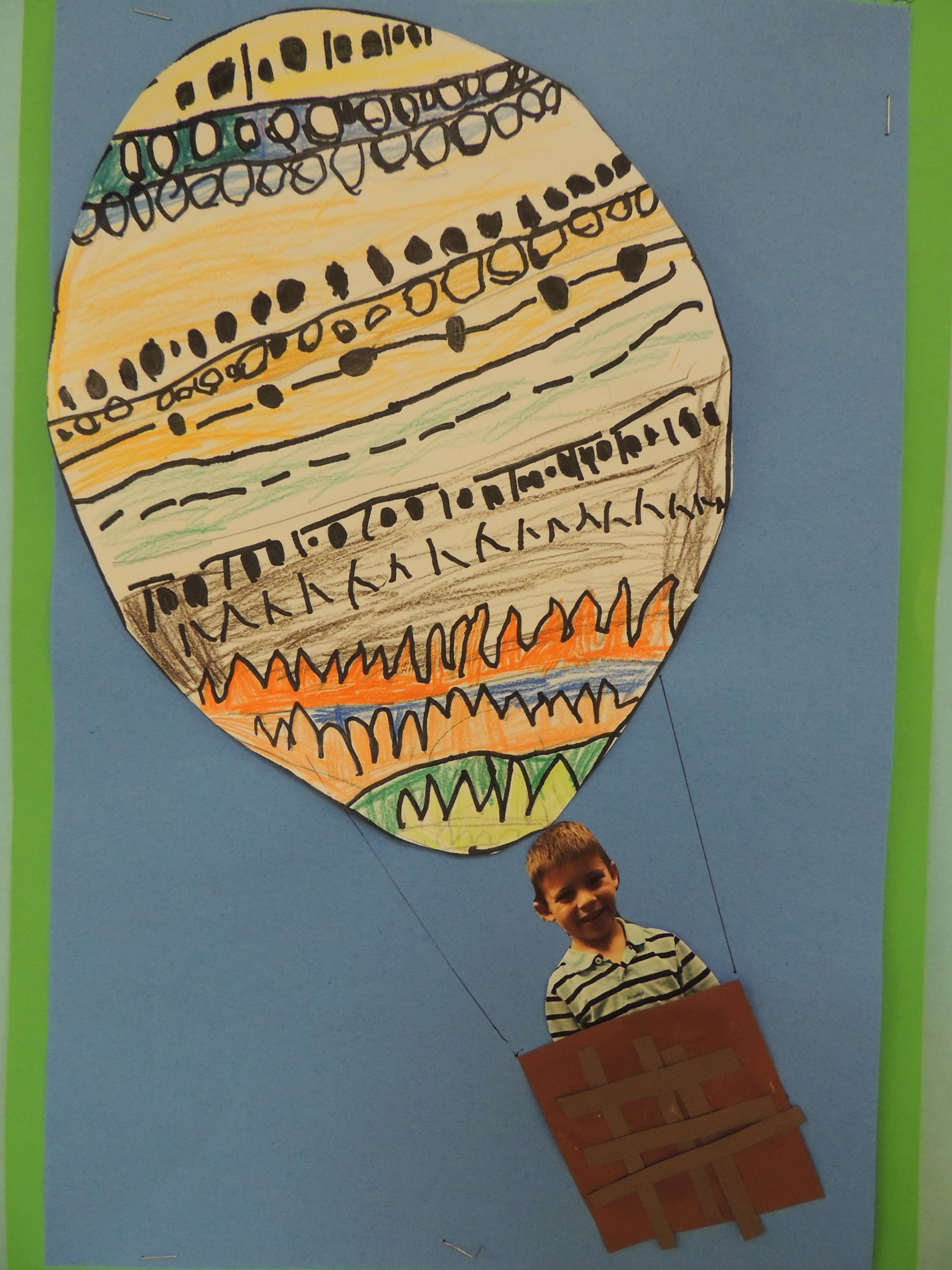 GH Hot Air Balloon Art