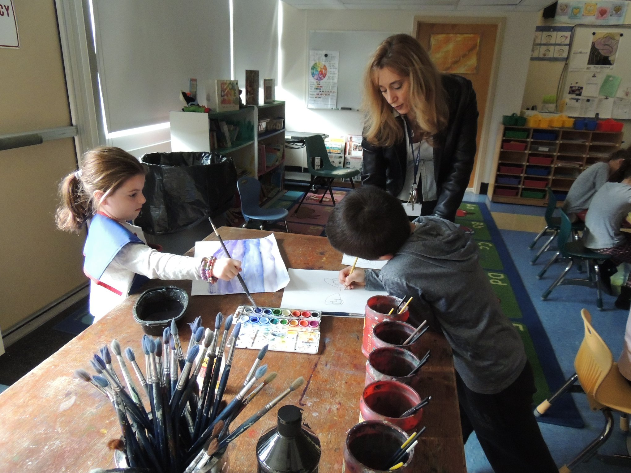 GH Students Learn about Chinese New Year in Art