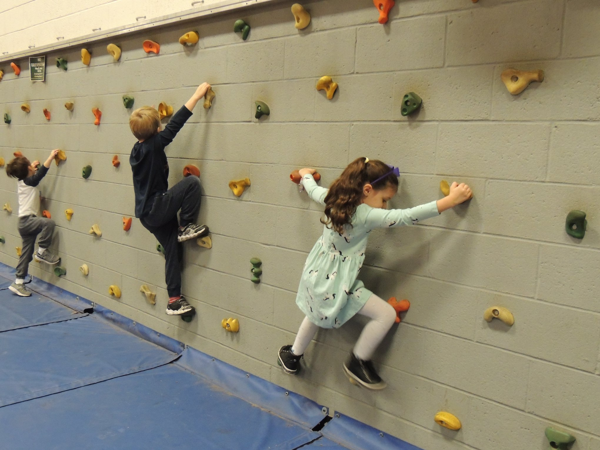 GH Rock Climbing in the Gym