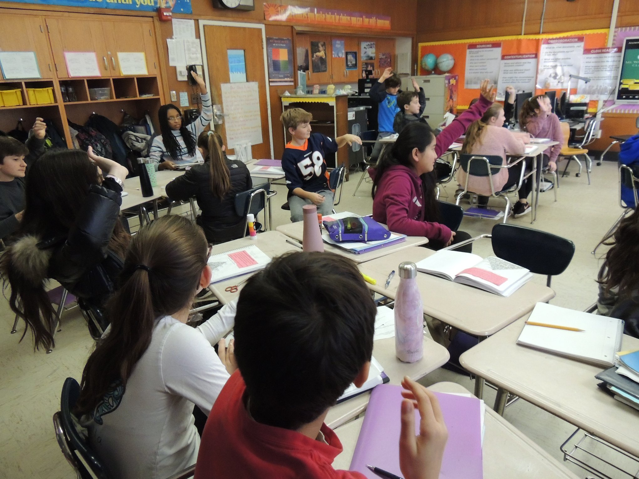 Sixth Graders Study Ancient Egypt