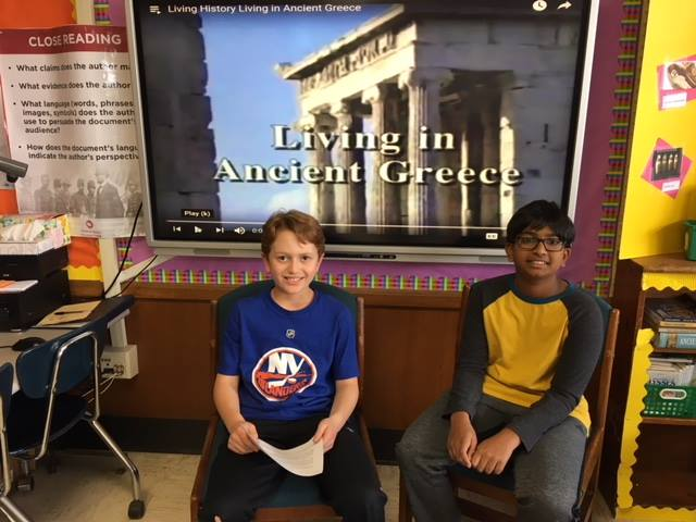 LH Students Research & Teach about Ancient Greece