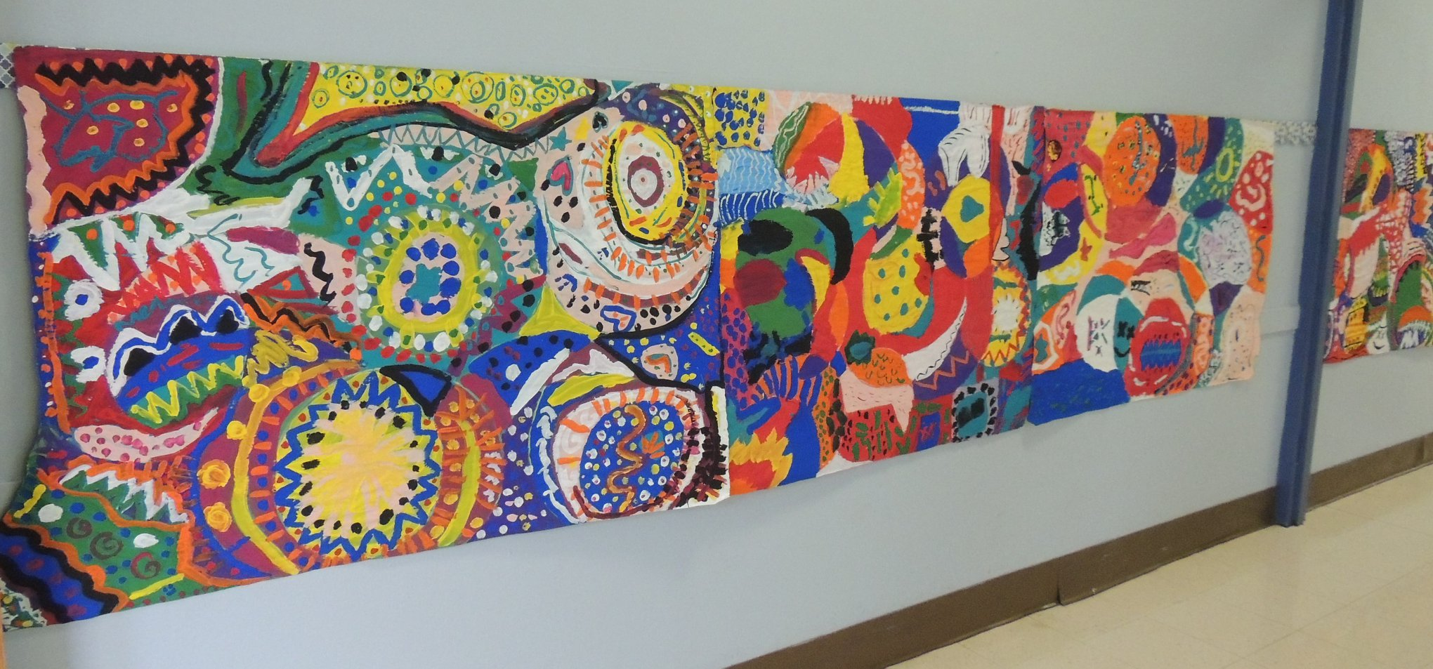 LH 2nd Graders Build a Community through Art