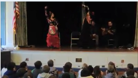 LH/WS 4th Graders Attend Flamenco Performance