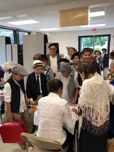 WS 4th Grade Ellis Island Reenactment