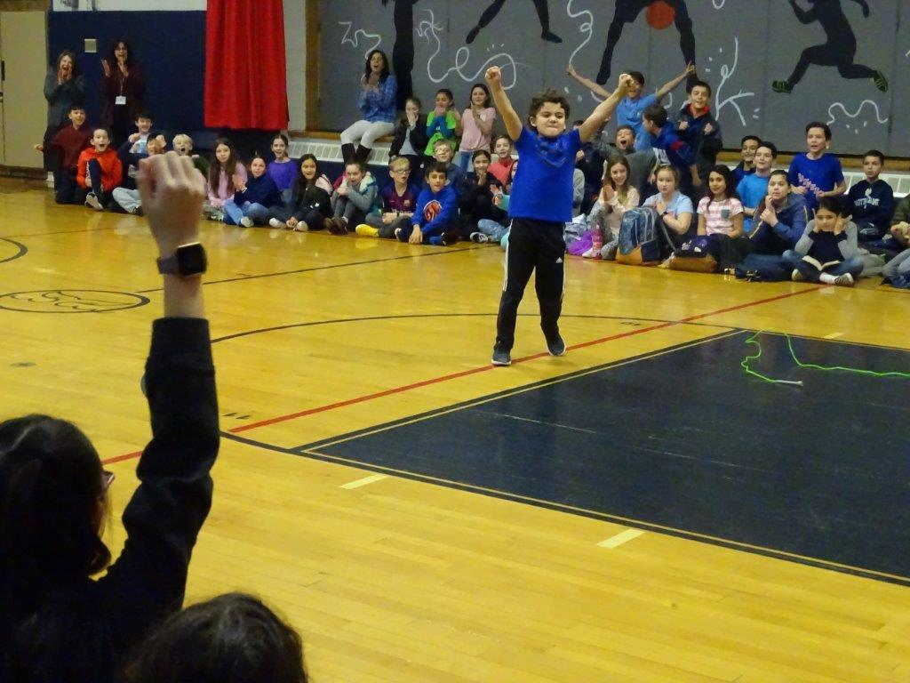 Jump Rope for the Heart Winner, Christopher Coco