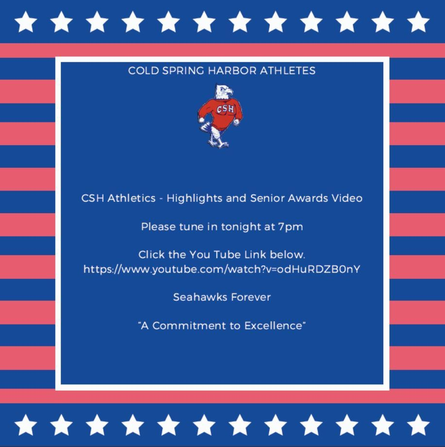 CSH Athletics - Highlights and Senior Awards Video