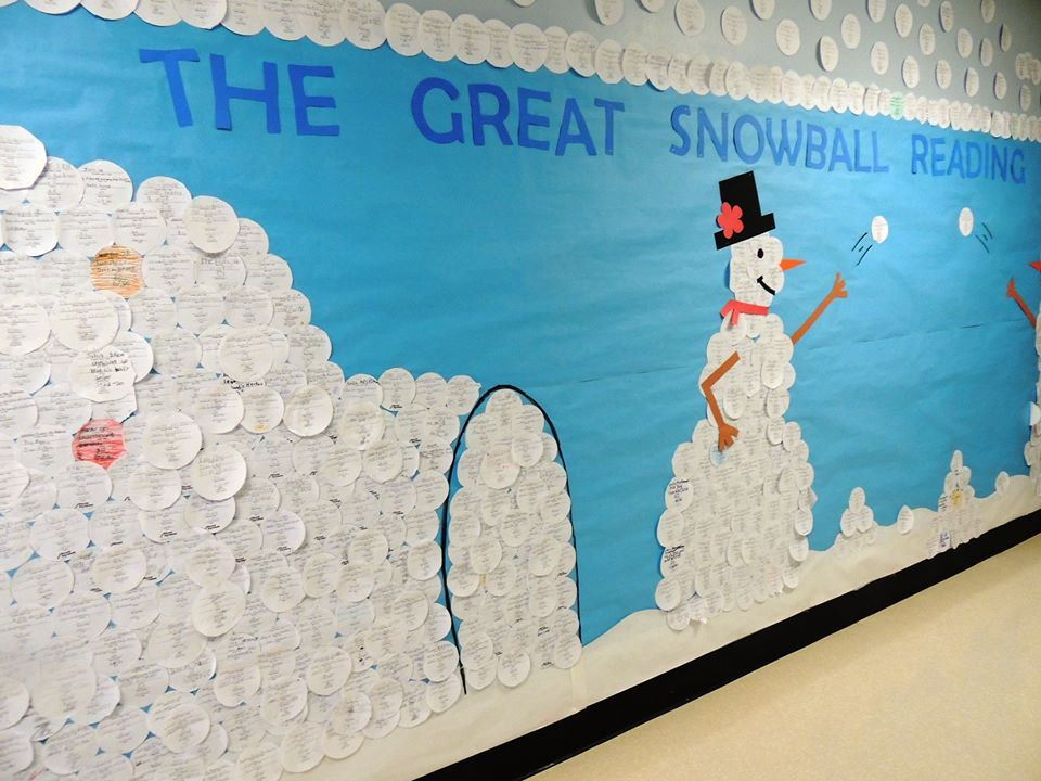 """The Great Snowball Reading Blitz!"""