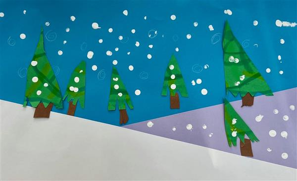 Kindergarten Winter Wonderland
